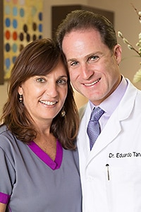 Dr. Eduardo Tanur and his wife