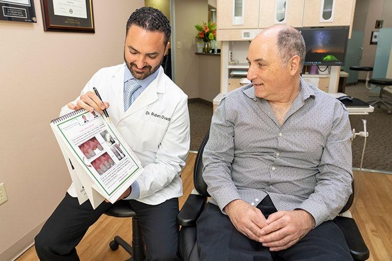 Dental gum disease treatment