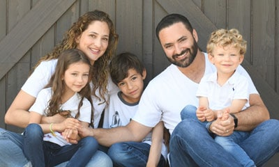 Dr. Ruben Ovadia and his family